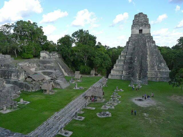 tikal temples guatemala